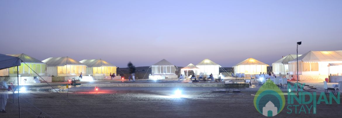 Deluxe Tents Stay in Sam Jaisalmer