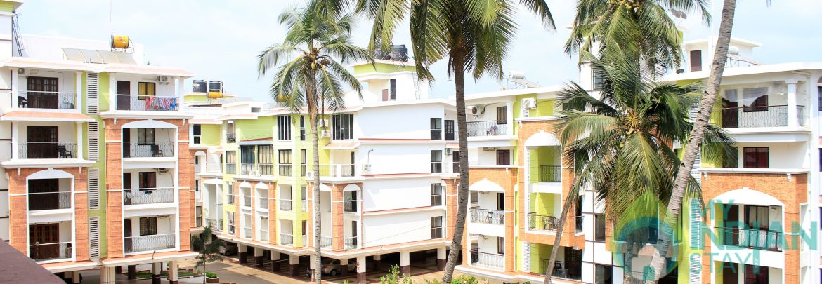 Modern Apartment close to Candolim Beach :CM080