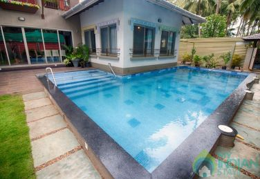 4 Bedroom modern private pool villa in Calangute