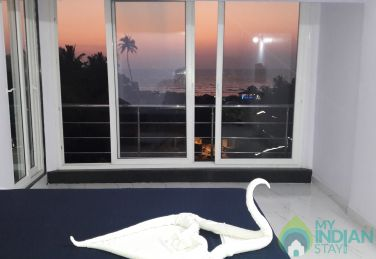 Luxury sea view room in Arambol