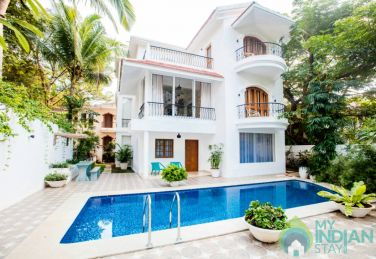 5 Bedroom Presidential Pool Villa in Candolim