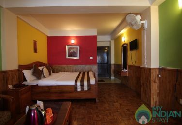 Non ac Royal Suite Room stay in Gangtok