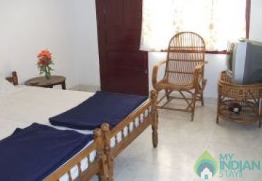 Clean and comfortable rooms in Kerala