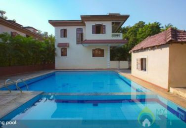 4 Bhk Villa in Arpora with Common Pool