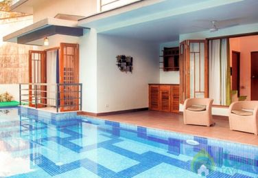 3 Bhk AC Villa with Private pool in Calangute