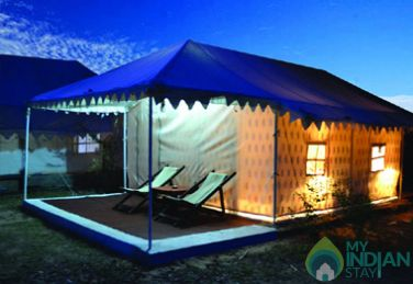Deluxe Swiss Tent on MAPAI Plan