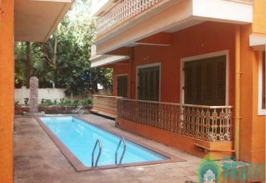 Fully Furnished 1 BHK Apartment In Calangute, Goa