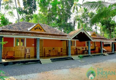 AC Rooms in Homestay - Munroe Island