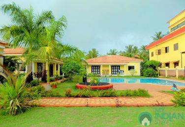 Fully  Furnished 2 BHK Apartments In Vagator