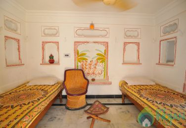AC Deluxe Rooms In Udai Haveli In Udaipur