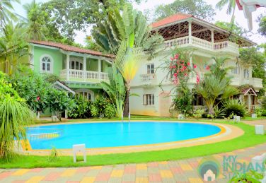 Splendid 2 BHK Appt In Arpora, Goa