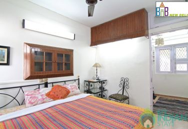 A/C Rooms in a Furnished HomeStay in New Delhi