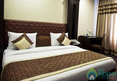 Deluxe Rooms in a guest house in New Delhi