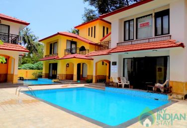 Holiday Villa With Pvt. Pool In Calangute, Goa