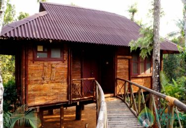 Bamboo Cottages in Wayanad, Kerala