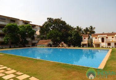 1 BHK Serviced Apartment with  swimming pool in Candolim