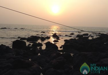 Non A/C Rooms with Ocean View in Arambol