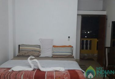 Normal AC Rooms with TV and Fridge In Calangute