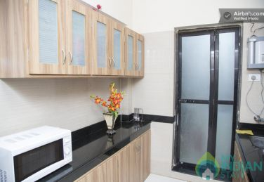 Self Contained 3 BHK Serviced Apartment in Goregaon