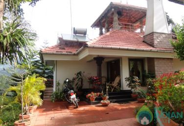 Cottage Amidst Tea Gardens In Munnar, Kerala