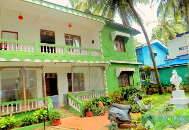 AC 1 Bedroom In a Guest House, Candolim