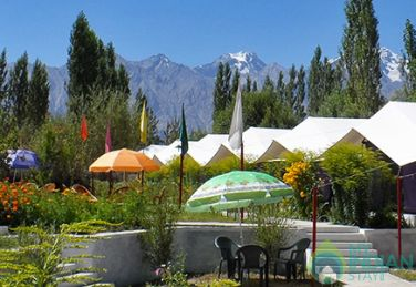 Stay In Swiss Tents In Nubra