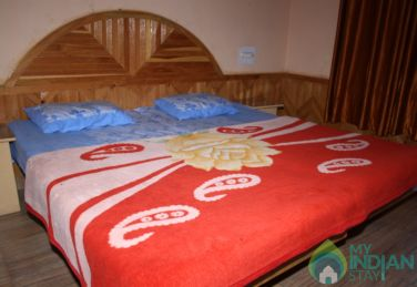 Semi Deluxe Room in a Guest House in Kasol