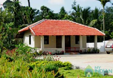 Single Room Cottage with 1 double bed in Coorg