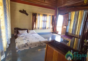 Double Room-Common balcony MAP Plan in Madikeri