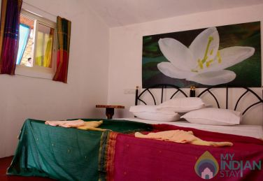 Basic double occupancy Cottages in Arambol, Goa