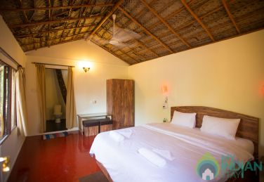 Ecologically built Rooms  at Palolem.