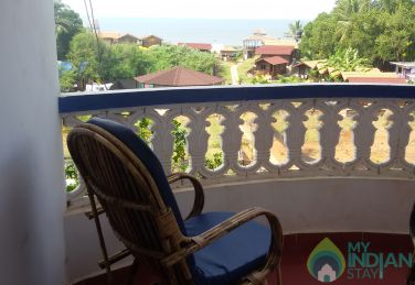 Deluxe Double Room AC with Sea View