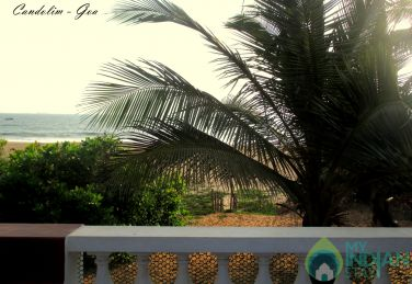 Beach Villa Overlooking the Sea - Candolim Goa