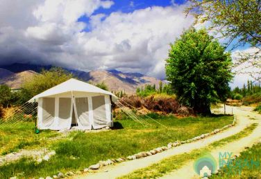 Camp Along Indus River, Ladakh