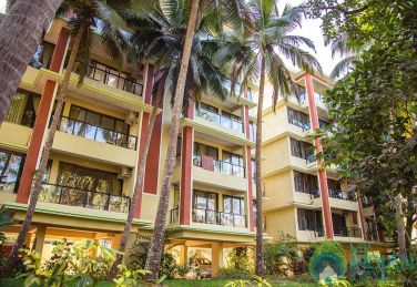 Luxurious 1 BHK AC Apartment in Palolem