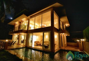 Private Pool Villa in Baga - 4 Bed Seahorse