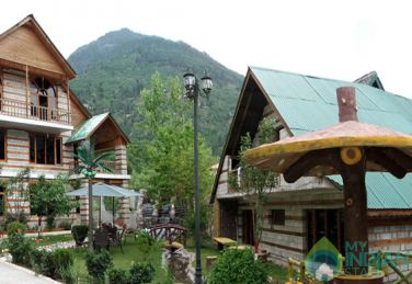 Deluxe Room in a Cottage in Manali
