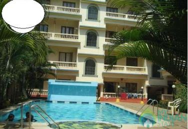 1 BHK Service Apartment, Calangute